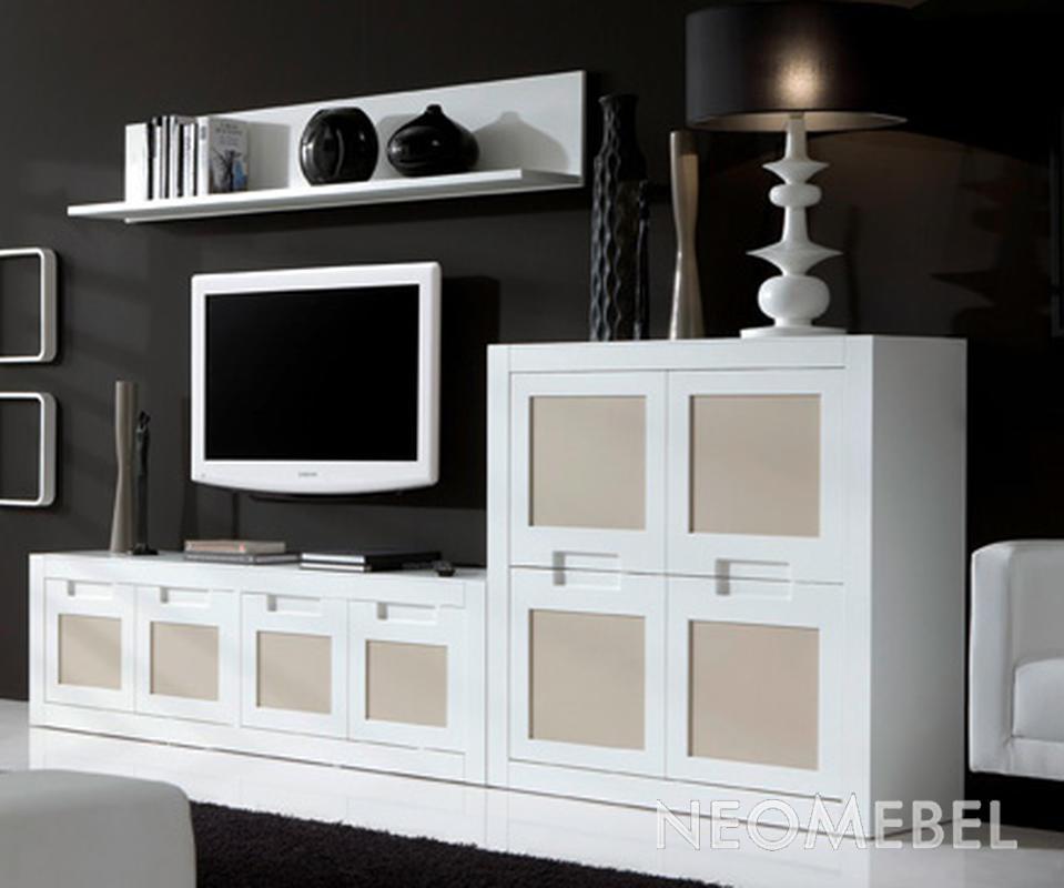 х спальные кровати со шкафами в стиле хай тек фото